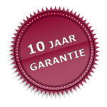 10 jaar garantie!